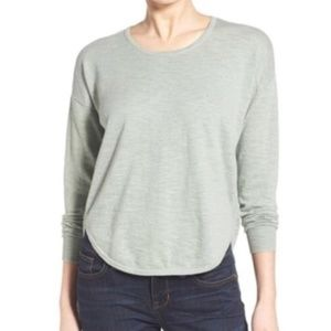 MADEWELL . Clearweather Pullover Hi-Low Sweater L